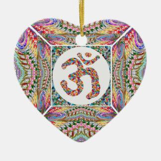 OM-Beschwörungsformel-Juwel-Sammlung Keramik Ornament
