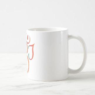 OM-ganpati-grün-orange Kaffeetasse