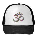 OM-Om Namaste Yoga-Symbol Trucker Caps