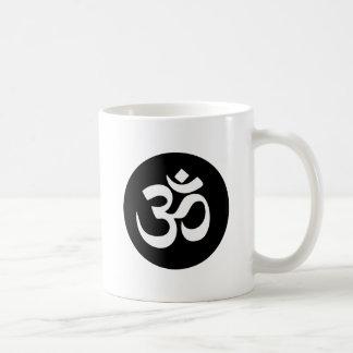 OM-Symbol-Kreis-Kaffee-Tasse Kaffeetasse