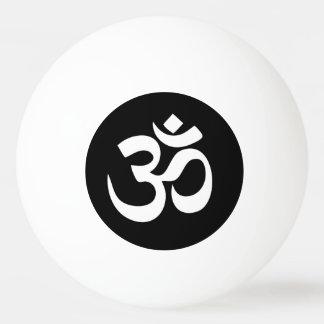 OM-Symbol-Kreis-Klingeln Pong Ball Ping-Pong Ball