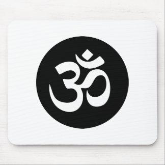 OM-Symbol-Kreis Mousepad