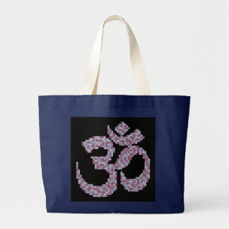OM-Symbol-Tasche Jumbo Stoffbeutel
