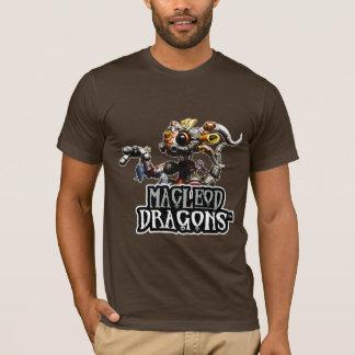 OM T - Shirt, Brown Drache MD Steampunk T-Shirt