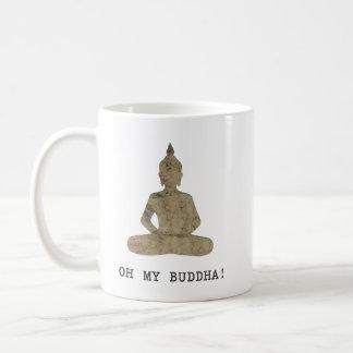OMB oh meine Buddha-Spaß-Silhouette Tasse
