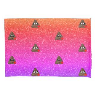 Ombre Schein-Herz kacken Emoji Kissen-Kasten Kissenbezug