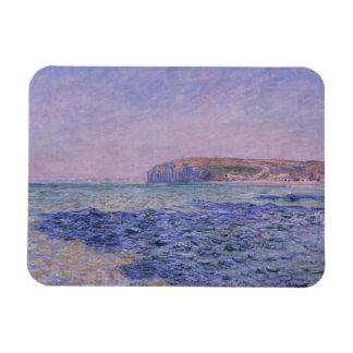 Ombres sur la mer Les falaises chez Pourville Magnets Rectangulaire