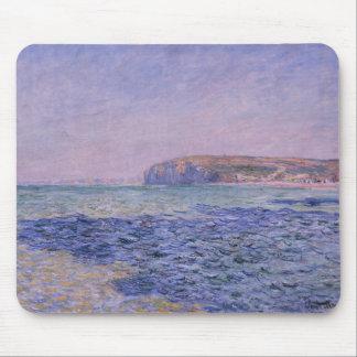 Ombres sur la mer. Les falaises chez Pourville Tapis De Souris