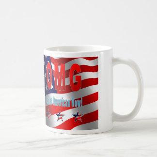 OMG bin ich ein Amerikaner jetzt! Tasse