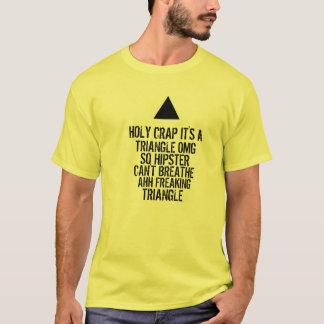 OMG Hipster-Dreieck T-Shirt