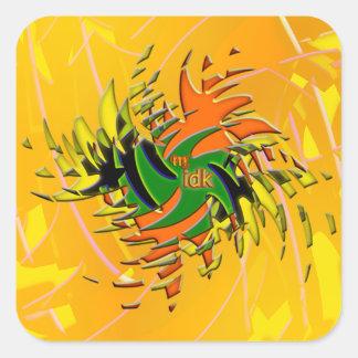 OMG ! idk Sticker Carré