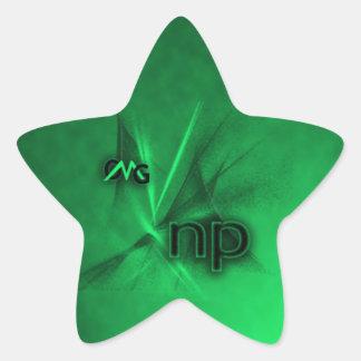 OMG ! le NP Sticker En Étoile