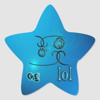 OMG ! lol Stickers En Étoile