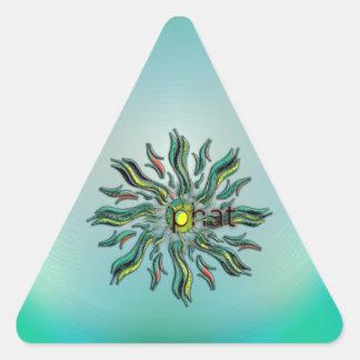 OMG ! phat Stickers En Triangle
