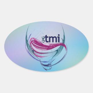 OMG ! tmi Stickers Ovales