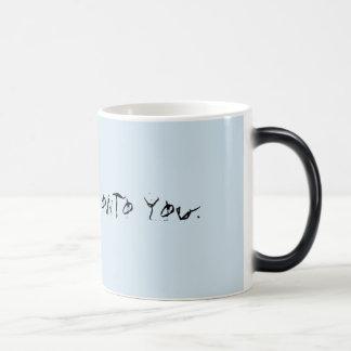 Ominöse Kaffee-Tasse Verwandlungstasse