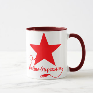 On-line-Superstar Tasse