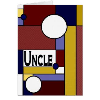 Onkel - der glückliche Vatertag zur Vorlage