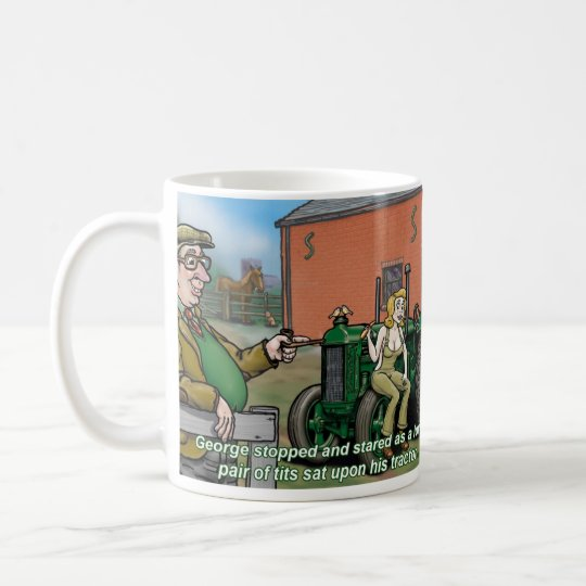 Onkel George Tractor Mug 2 Tasse