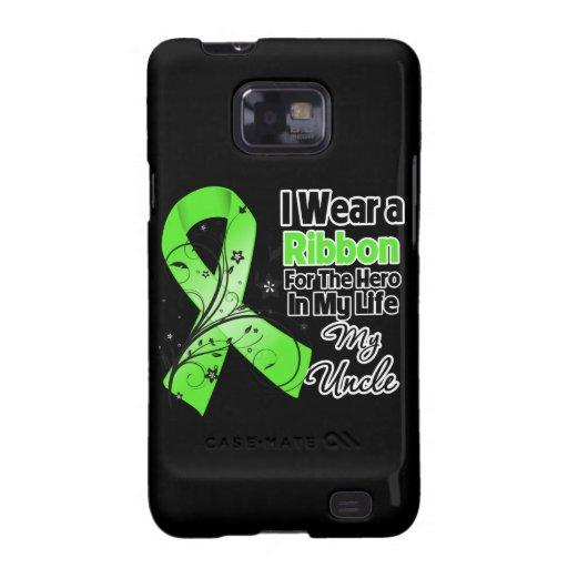 Onkel Hero in meinem Leben-Lymphom-Band Samsung Galaxy S2 Cover