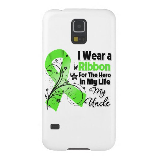 Onkel Hero in meinem Leben-Lymphom-Band Samsung Galaxy S5 Hülle