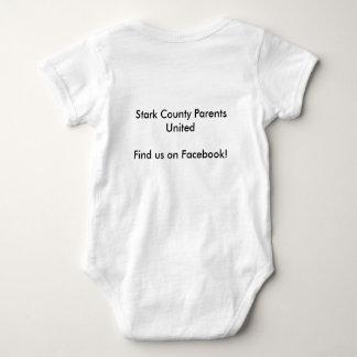 Onsie; Stark County Eltern vereinigt Babybody