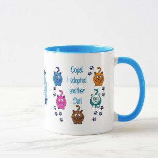 Oops!  Ich adoptierte eine andere Katze! Tasse