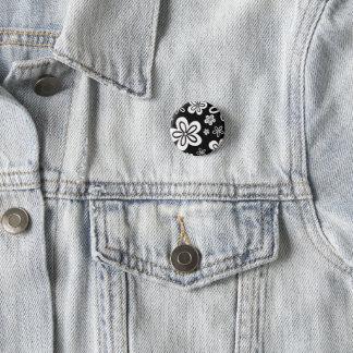 Oopsy Gänseblümchen - Rückseite Runder Button 3,2 Cm
