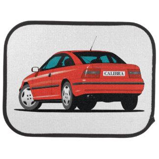 Opel Calibra-Rotrückseite Automatte