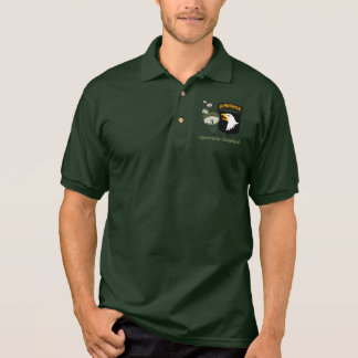 OperationOverlord WWII [101. Abn] Polo Shirt