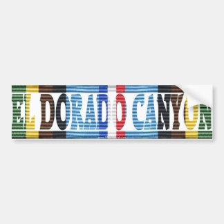 Operations-EL Dorado Aufkleber Autoaufkleber