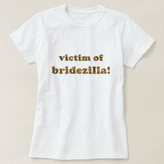 Opfer von Bridezilla | Spaß Tigerprint T - Shirt