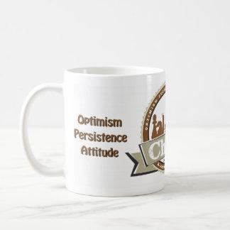 Optimismus, Ausdauer-Haltung, Kaffeetasse