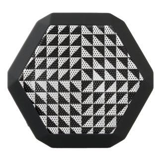 Optische Schwarzweiss-Illusion Schwarze Bluetooth Lautsprecher