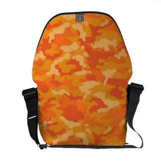Orange Armee-MilitärCamouflage-Tarnungs-Muster Kuriertasche