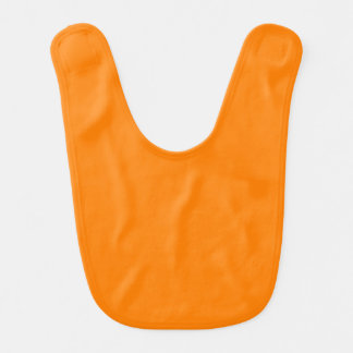 Orange Babylätzchen
