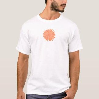 Orange Blume T-Shirt