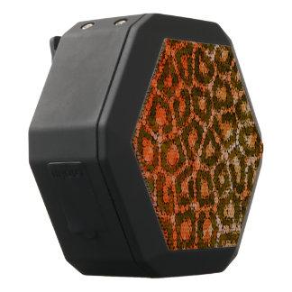 Orange Brown abstrakter Cheetah Schwarze Bluetooth Lautsprecher