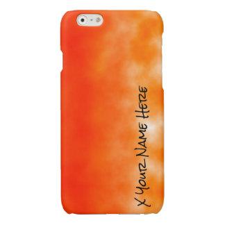 Orange chemischer Glühen-Neonblick 2