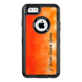 Orange chemischer Glühen-Neonblick 2 OtterBox iPhone 6/6s Hülle