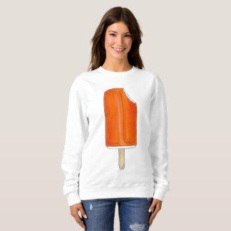 Orange Eiscreme Creamsicle Popsicle-Sweatshirt Sweatshirt