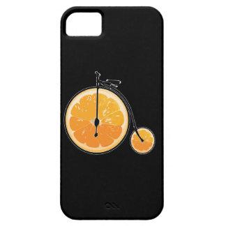 Orange Fahrrad iPhone 5 Etuis
