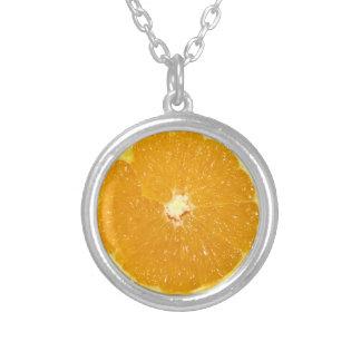 Orange Frucht-neue Scheibe - Halskette