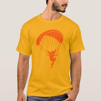 Orange Gleitschirmfliegen-Elf-T-Shirt T-Shirt