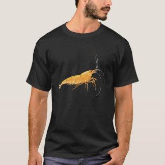 Orange Kirschblüte-Garnele T-Shirt