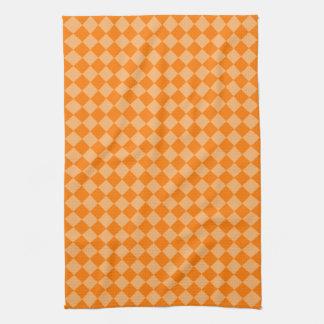 Orange Kombinations-Diamant-Muster durch STaylor Küchentuch