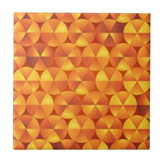 Orange Kreise Keramikfliese