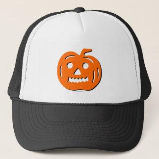 Orange Kürbis-Halloween-Hut Truckerkappe