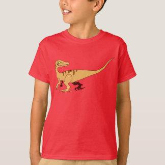 Orange lächelnder Raubvogel T-Shirt