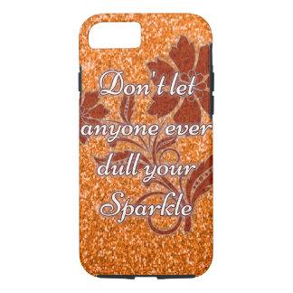 Orange lassen niemand stumpfer Schein iPhone 7 iPhone 8/7 Hülle